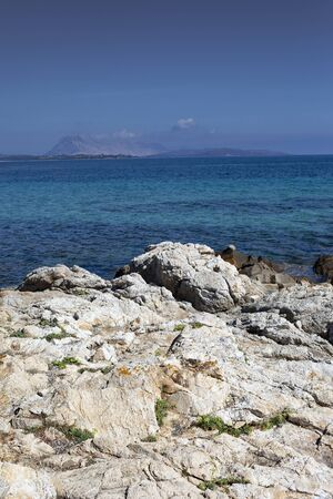 Mediterranean sea next to San Teodoro village, Sardinia, Italy.