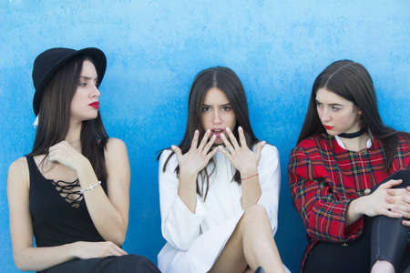 three girls problem anger