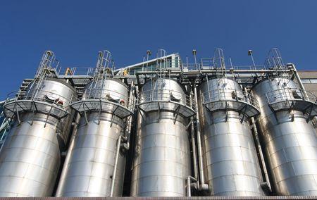 industria petroquimica: Industria petroqu�mica en Rotterdam
