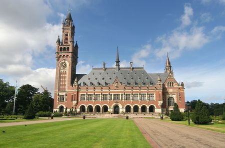 united nations: United Nations Peace Palace in The Hague, Holland