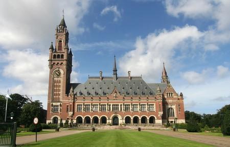 nazioni unite: Nazioni Unite del Palazzo della Pace a L'Aia, Olanda Archivio Fotografico