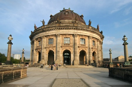 bode: The famous Bode Museum in Berlin Stock Photo