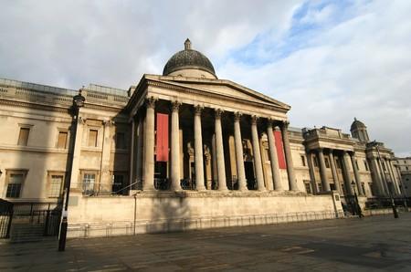 trafalgar: London National Gallery on Trafalgar Square