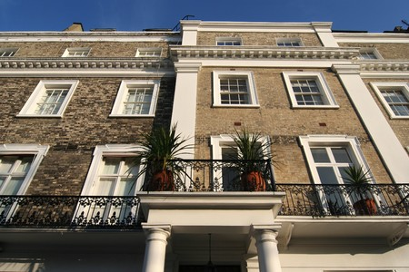 London luxury apartments in Kensington Stock Photo - 4574922