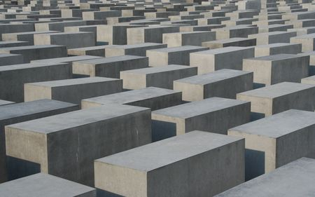 holocaust: Holocaust monument in Berlin, Germany