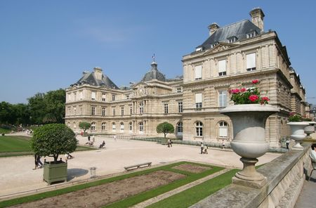 luxembourg: Luxembourg Palace and garden in Paris