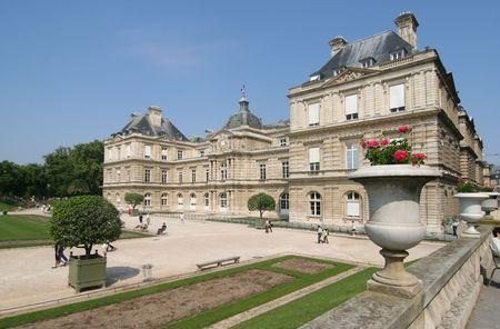 french renaissance: Palacio de Luxemburgo y el jard�n en Par�s