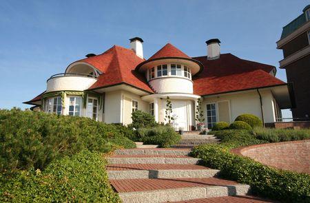 Luxe huis met trap