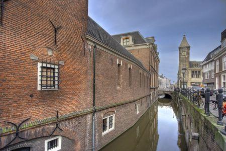 Utrecht Canal  Stockfoto