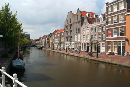 Historic Dutch canal photo
