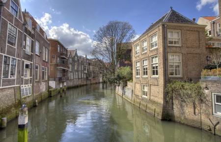 dordrecht: Canal in Dordrecht, Holland
