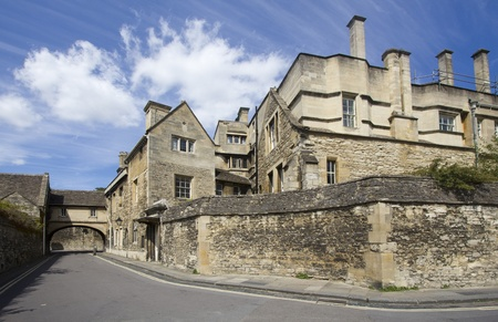 College buildings in Oxford, UK photo