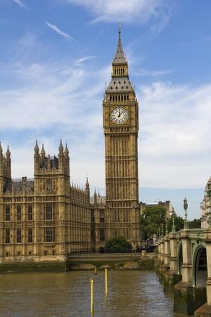 Big Ben and Westminster parliament