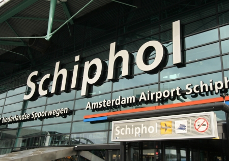 Schiphol Airport Amsterdam on September 25, 2009 in Amsterdam, Holland