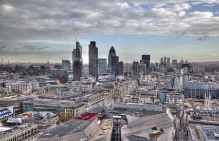 Uitzicht vanaf St. Pauls Cathedral in Londen, Verenigd Koninkrijk