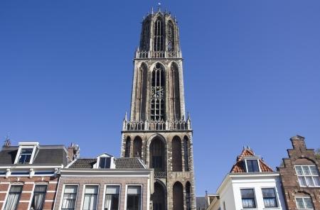 dom: Tour de la cathédrale Dom d'Utrecht, Pays-Bas Banque d'images