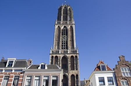 dom: Tower of the Dom cathedral of Utrecht, Holland
