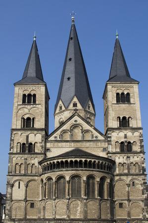 palatine: Palatine Chapel in Bonn, Germany Stock Photo