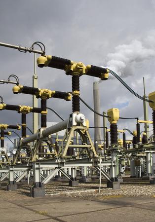 powerplant: Turbines of a powerplant near Amsterdam, Holland
