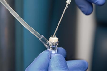 Inyección intravenosa Foto de archivo - 4926805