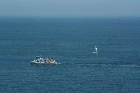 Boat at Baltic sea