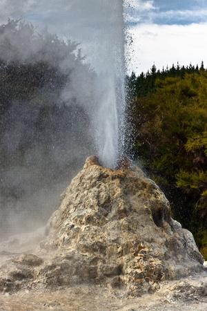 active volcano: Wai-O-Tapu Wonderland. Geothermal area at Wai-O-Tapu, Rotorua, North Island, New Zealand.