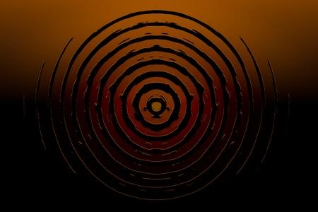 Abstract circles symbol. High resolution background illustration. Stock Illustration - 9476460