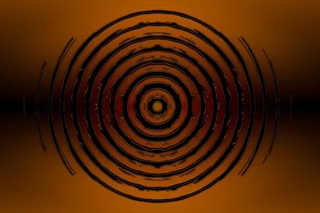 Abstract circles symbol. High resolution background illustration. Stock Illustration - 9906242