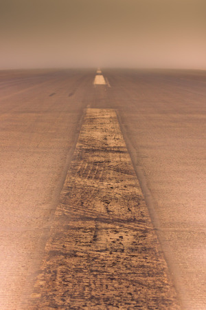 nowhere: Journey to nowhere, abstract toned simple background. Stock Photo