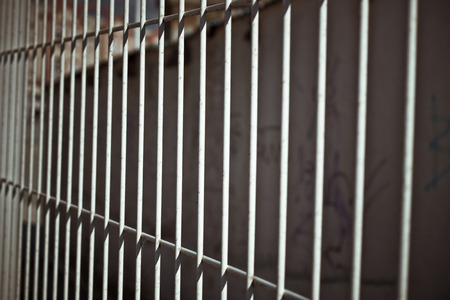 bar: Abstract photo of Iron bars fence.