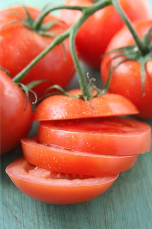 Vine-ripe Tomatoes photo