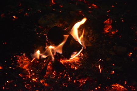 fire with fire smoke beautiful flame wood