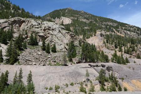 Colorado mountainside Imagens