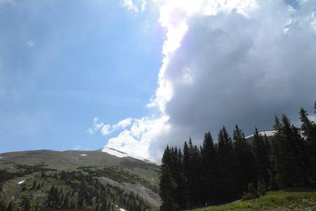 Split Mountain landscape