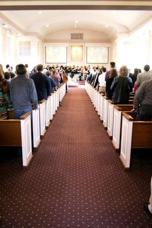 jesus standing: church isle