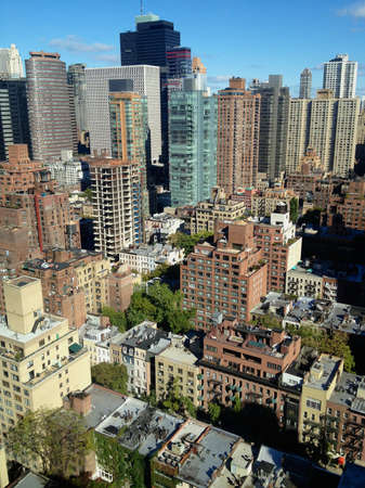 Aerial photo of East Midtown Manhattan, New York, NY, USA. Stock Photo - 19231243