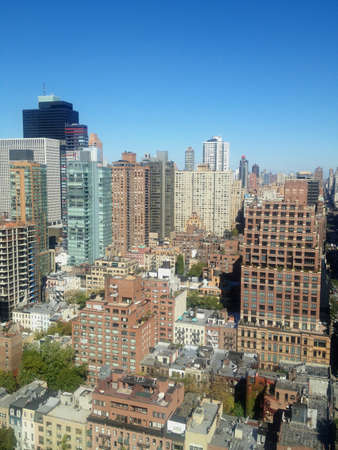 Aerial photo of East Midtown Manhattan, New York, NY, USA. Stock Photo - 19231209