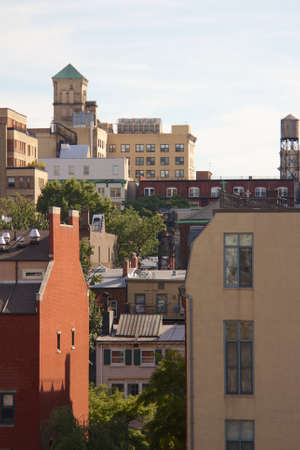 View of Brooklyn Heights in Brooklyn, NY, USA in September 2013