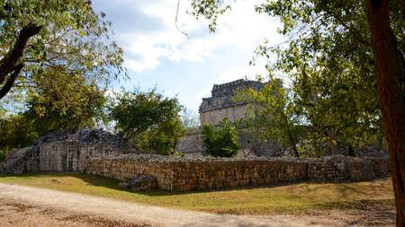 Mayan ruins in the ancient city of Chichen Itza, Yucatan, Mexico  photo
