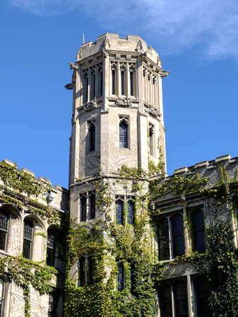 undergrad: CHICAGO, IL, USA - OCTOBER 8, 2014: Impressions the University of Chicago