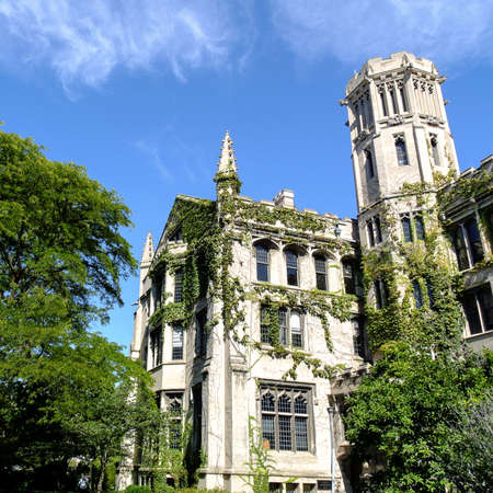 il: CHICAGO, IL, USA - OCTOBER 8, 2014: Impressions the University of Chicago