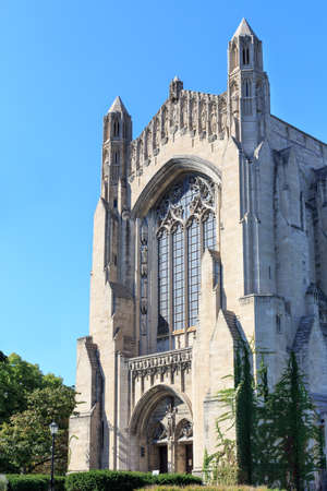 il: CHICAGO, IL, USA - SEPTEMBER 22, 2014: Portal of the University of Chicago
