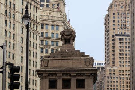il: Cityscape of Chicago, IL, USA.