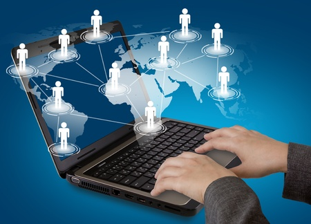 Social networking concept photo