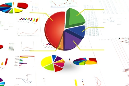 Business graph. Stock Photo - 10734465