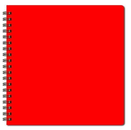 red sketch book photo