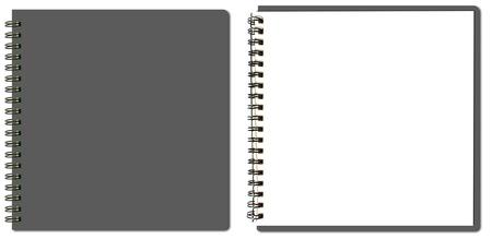 inzameling van grijs schetsboek