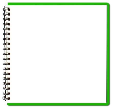 zielony szkicownik