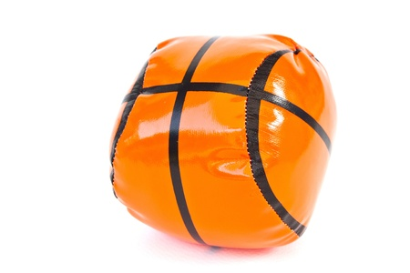 Toy Ball On White Background Stock Photo - 11113800