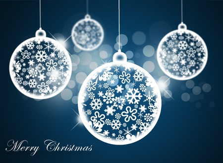 festivity: Christmas background with christmas ball.